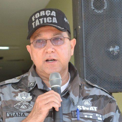Coronel Viana é exonerado de comando do 4º BPM de Picos