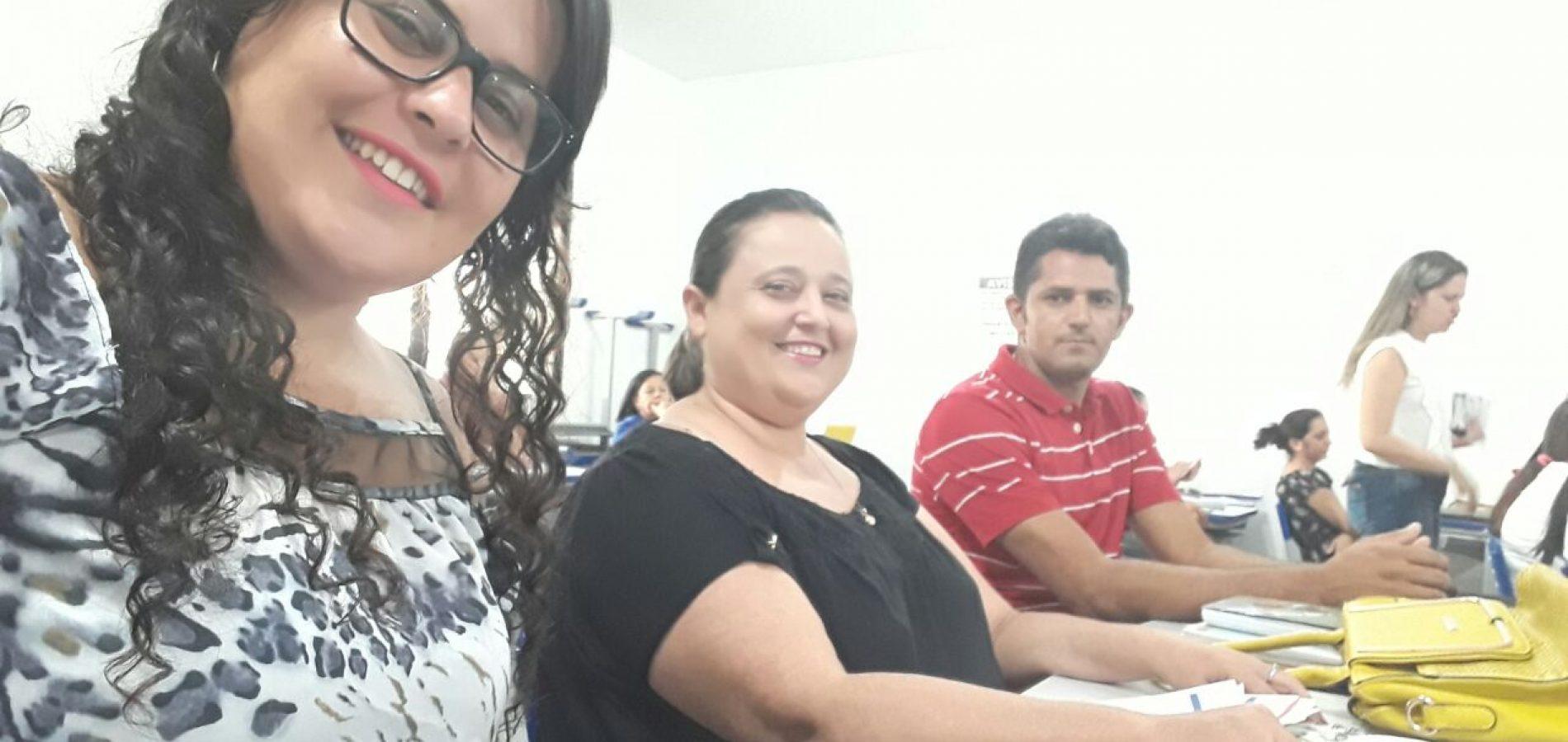 Secretária de Educação de Vila Nova participa de encontro do PME , em Picos-PI