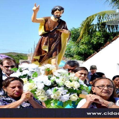 Igreja divulga a programação dos festejos de São João Batista, em Massapê do Piauí