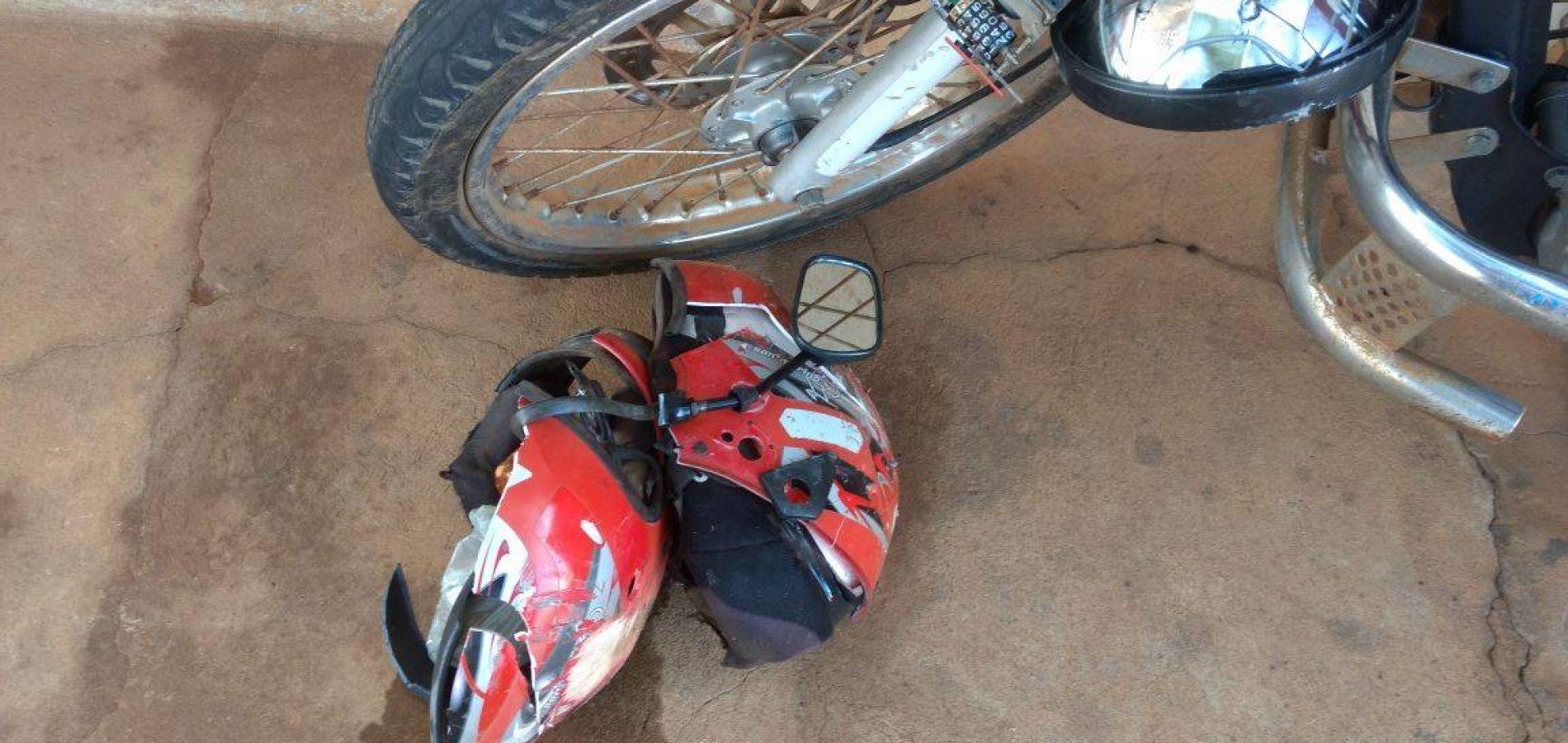 Motociclista morre em acidente na PI-459 em Queimada Nova