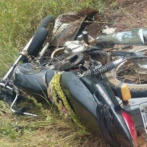 Pai de vereador morre após colisão entre veículo e motocicleta na BR 343