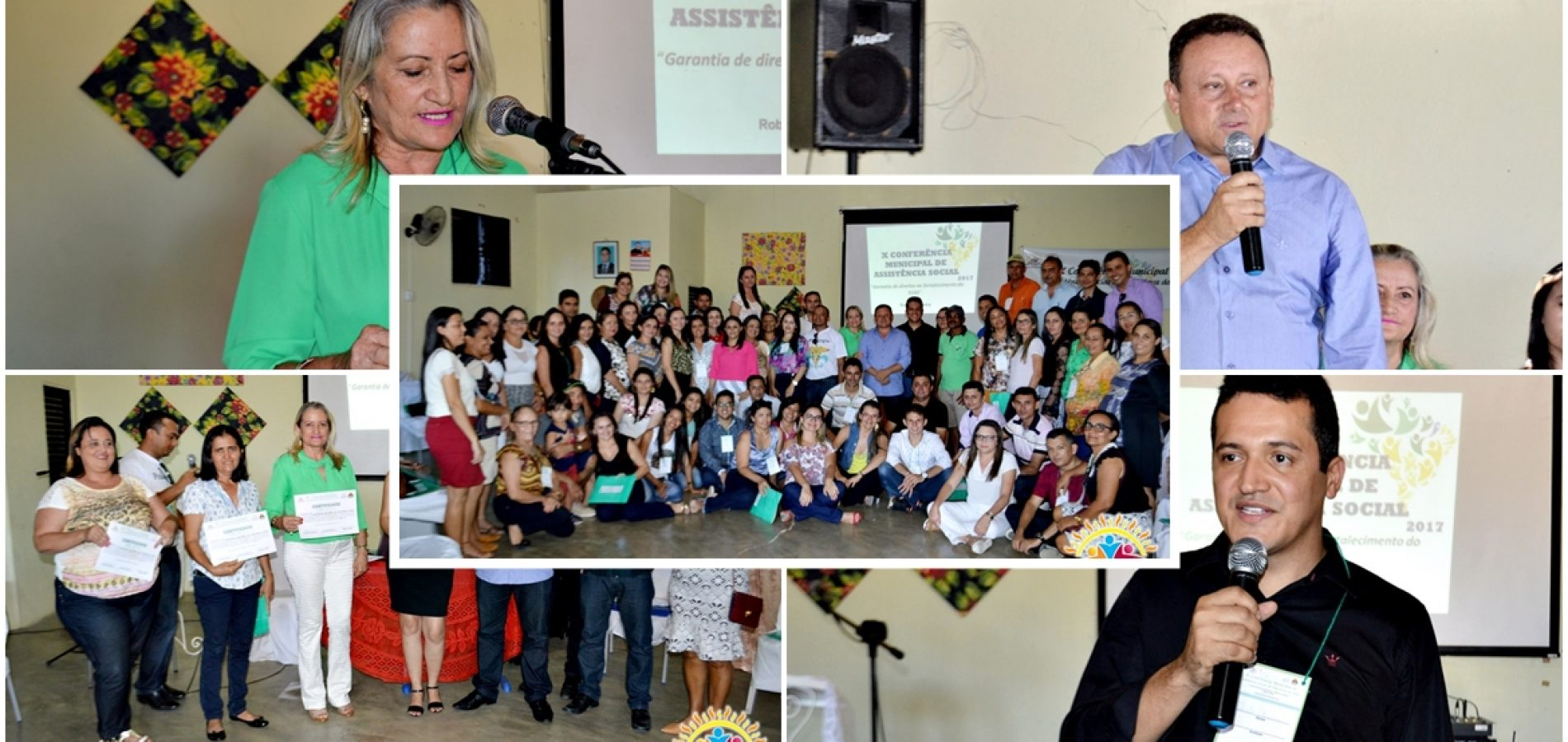Vila Nova realiza a X Conferência Municipal de Assistência Social; veja fotos!