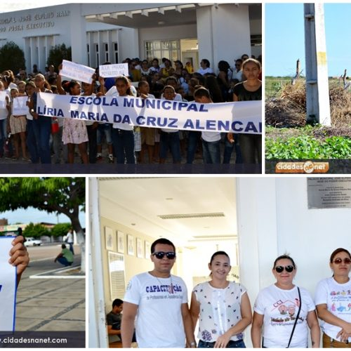 JAICÓS    Mutirão mobiliza contra o aedes aegypti; fotos