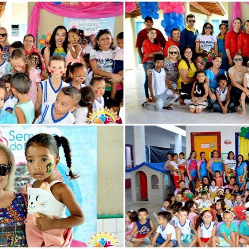 3º dia da VI Semana do Bebê de Vila Nova do PI tem atividades da educação municipal. Fotos!