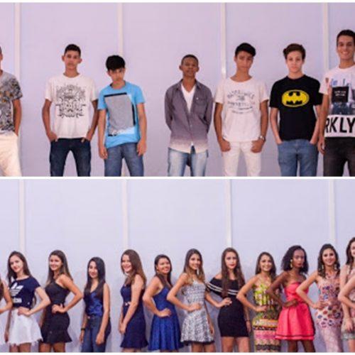 """Selecionados os 16 candidatos para a disputa do """"Miss e Mister Fronteiras 2017""""; conheça cada um!"""