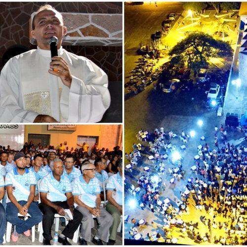 Última noite de novena reúne centenas de devotos da Área Pastoral de Alegrete para santa missa, rifão de prêmios e seresta