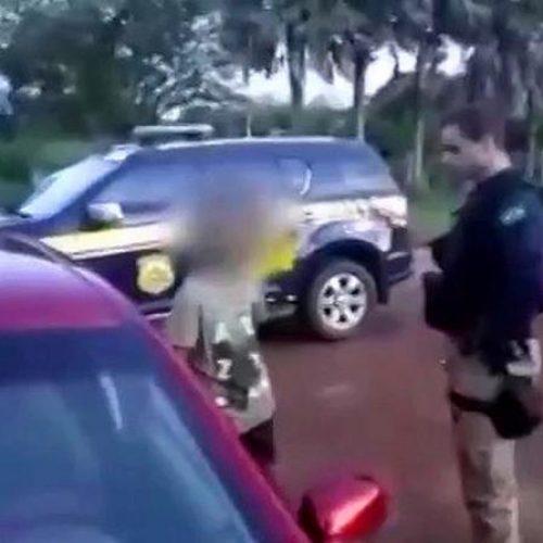 Geral PRF flagra garoto de 13 anos conduzindo veículo no Piauí