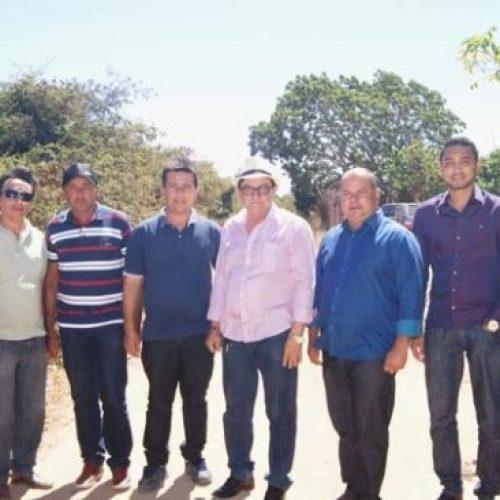 Prefeitos de Marcolândia e Caldeirão Grande firmam parceria para recuperar estrada
