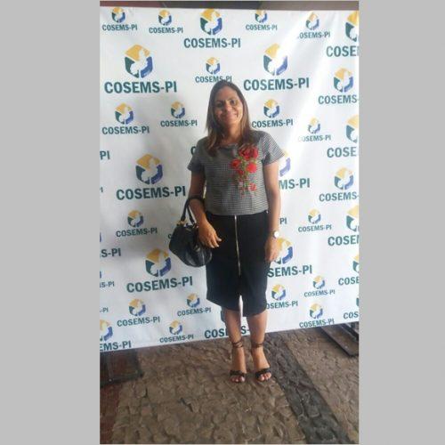 Secretária de Saúde de  Patos participa do VII Congresso da COSEMS em Teresina