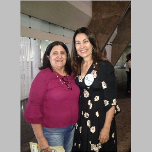 Secretária de Assistência Social de Massapê do Piauí participa do lançamento do Programa Criança Feliz