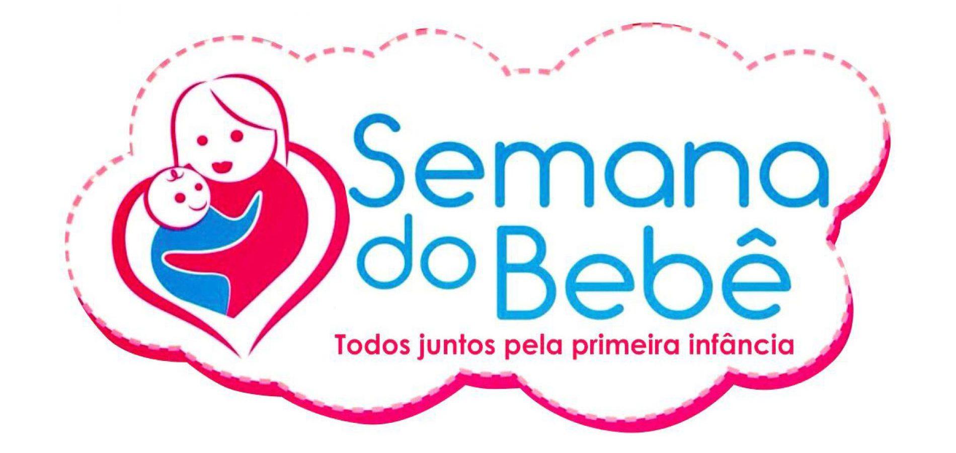 Prefeitura de Vila Nova vai realizar a VI Semana do Bebê de 22 à 26 de maio