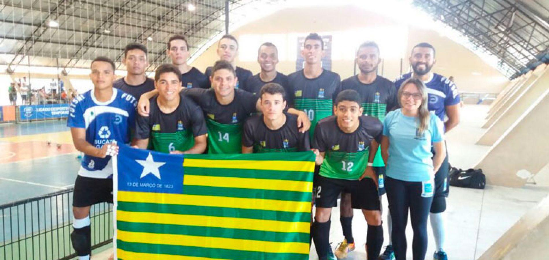 Handebol e Futsal do Piauí são prata na Liga do Desporto Universitário do Nordeste