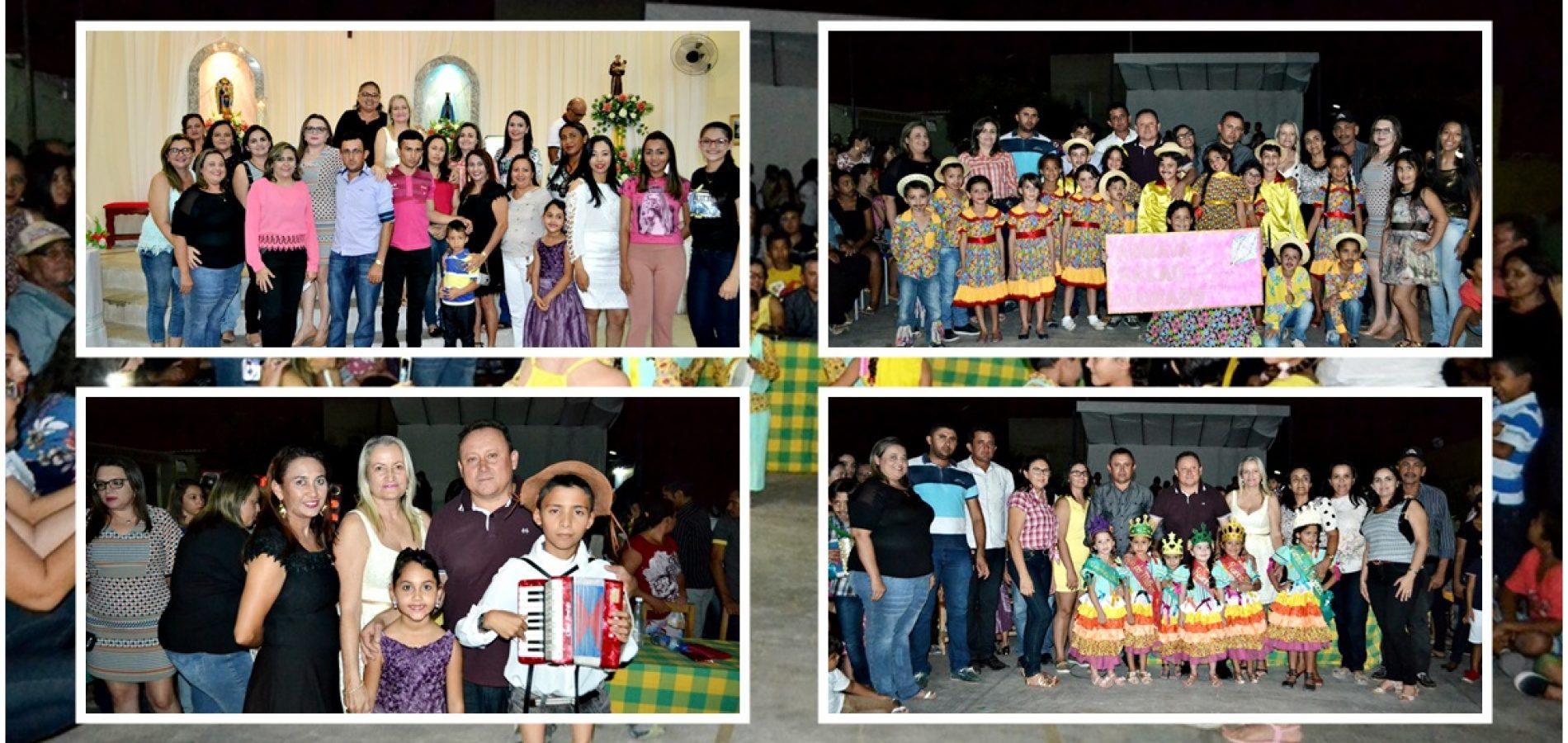 Novena Missa seguida de apresentações culturais da Educação Municipal marca 6ª noite dos festejos de Santo Antônio em Vila Nova