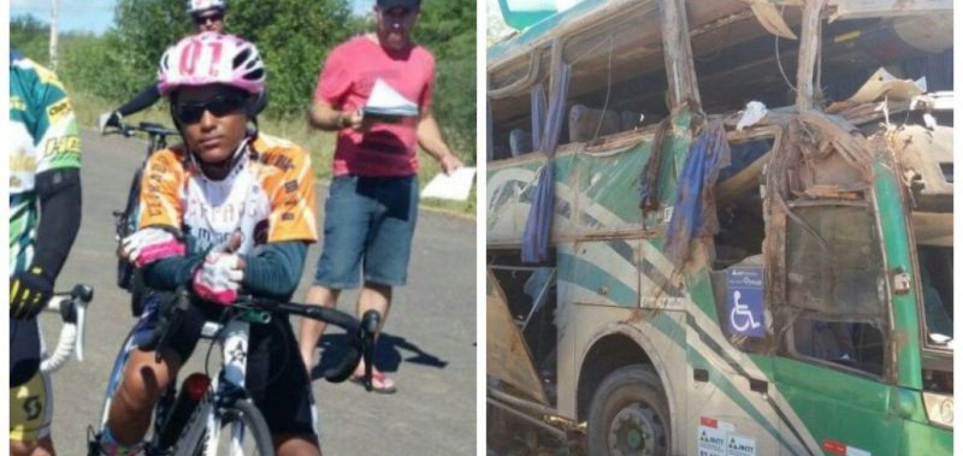 Jovem de Fronteiras é uma das vítimas do acidente com ônibus na BR-135