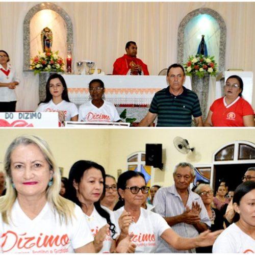 Segunda noite do novenário de Santo Antônio é celebradao em Vila Nova do PI; veja fotos