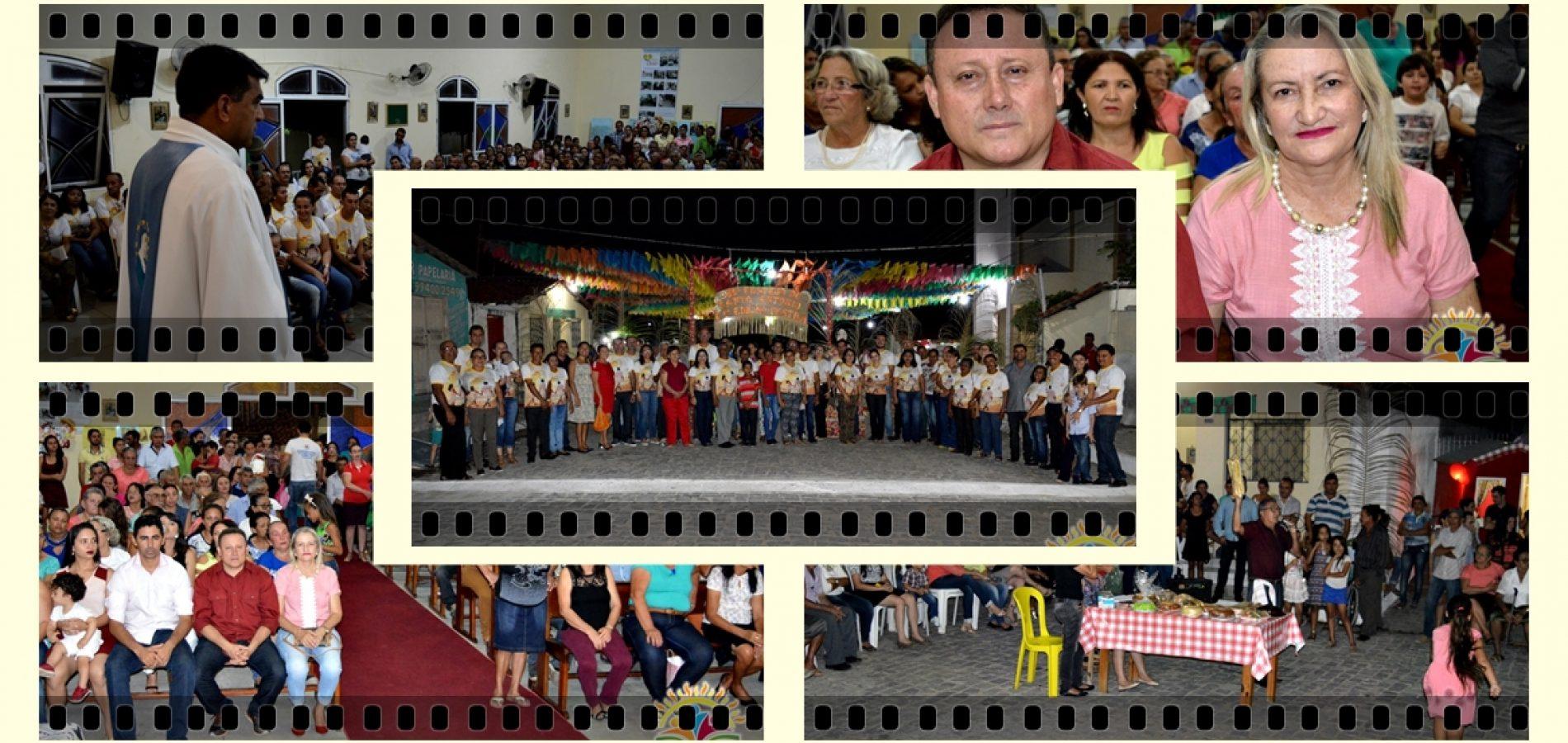 VILA NOVA |  8ª Noite de Novena/Missa é celebrada em preparação a solene festa de Santo Antônio; veja fotos