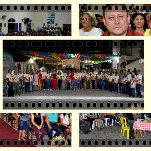 VILA NOVA    8ª Noite de Novena/Missa é celebrada em preparação a solene festa de Santo Antônio; veja fotos