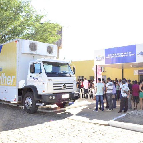 'Saúde Mulher' realiza exames gratuitos em Caridade do Piauí