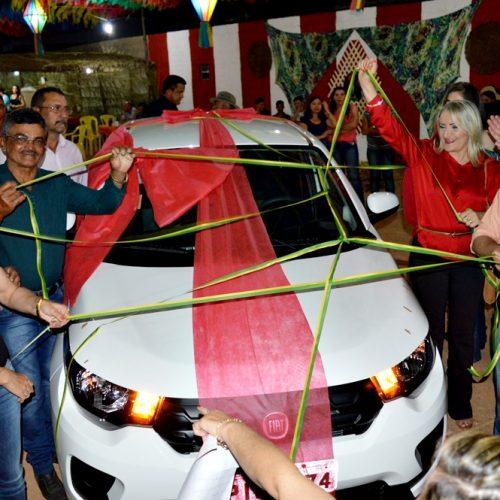 Veja cobertura fotográfica da 1ª noite do 16º Arraiá São João Batista em Vila Nova