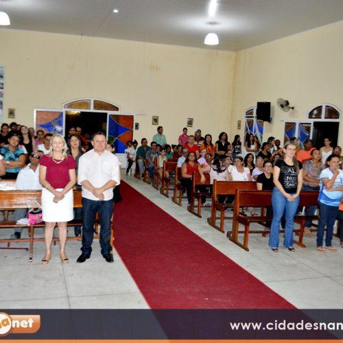 Pastoral da Pessoa Idosa e Crismandos celebram a 3ª noite dos festejos de Santo Antônio em Vila Nova