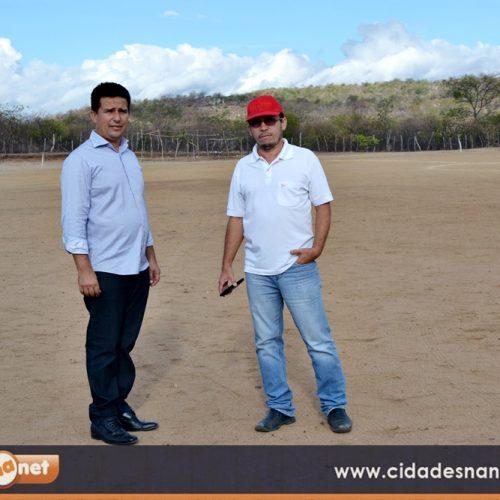 Prefeitura de Caldeirão Grande elabora projeto para construção de estádio de futebol