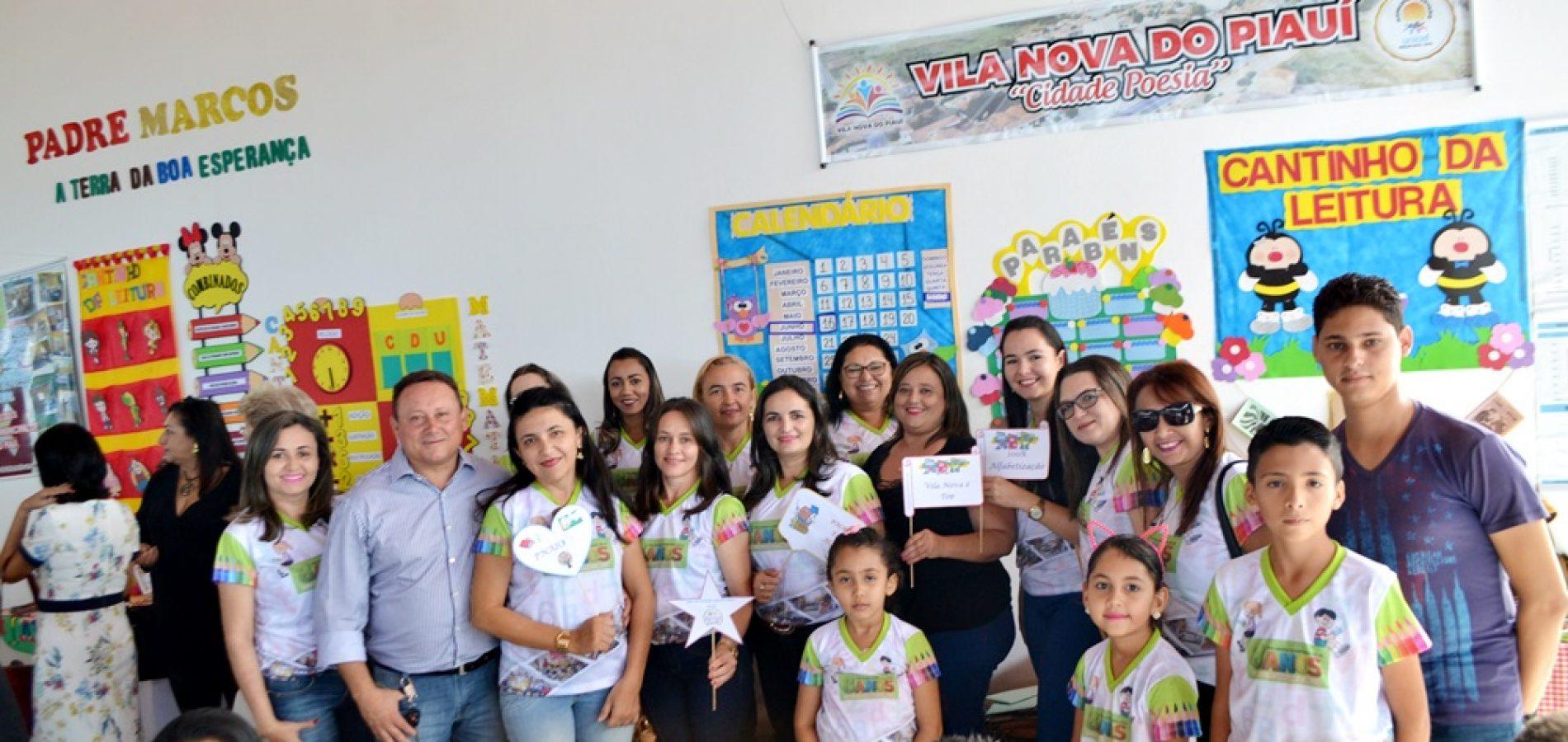 Educação Municipal de Vila Nova apresenta avanços e resultados durante o 'I Seminário Intermunicipal de Alfabetização do PNAIC em Francisco Macedo'