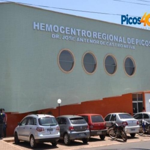 Picos | Hemopi realizará campanha em alusão ao Dia Mundial do Doador de Sangue