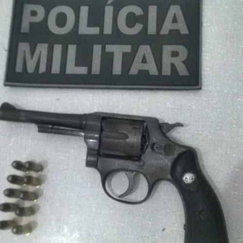 Homem é preso armado no interior de Patos do Piauí
