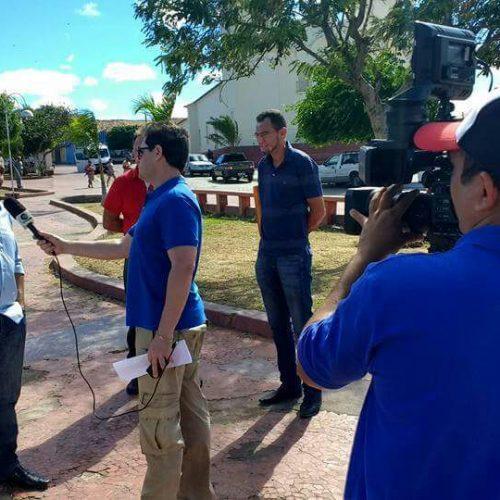 Em entrevista à TV Clube, prefeito de Jaicós fala sobre a preocupante escassez de água
