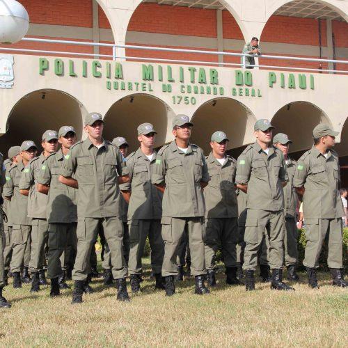 Polícia Militar do Piauí comemora 182 anos com promoções e entrega de equipamentos