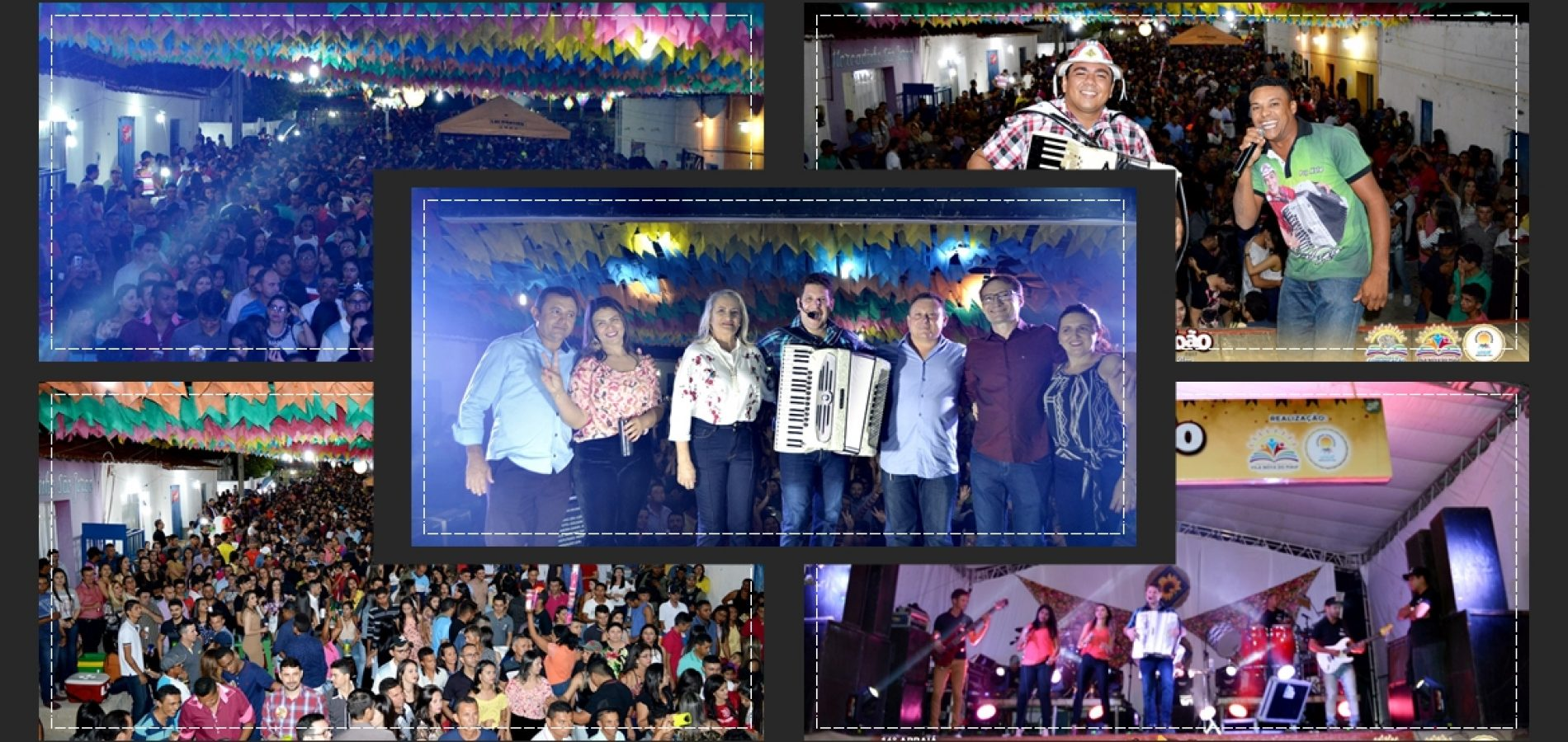 Shows atraem multidão e encerram o 16º Arraiá de São João Batista em Vila Nova do Piauí; veja fotos