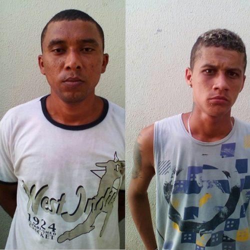 Polícia prende dupla acusada de furtos e arrombamentos em município do Piauí