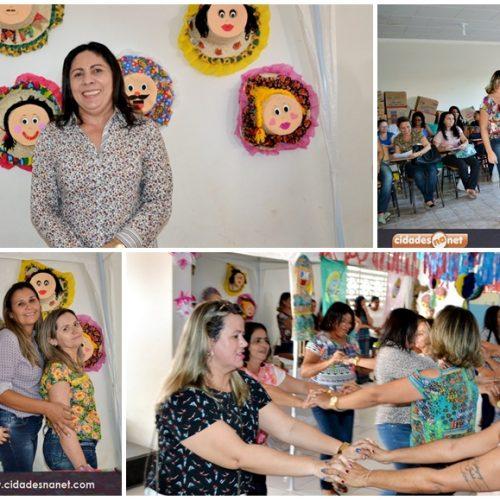 Secretaria de Educação de Jaicós promove formação pedagógica  'O Arraiá da Leitura'