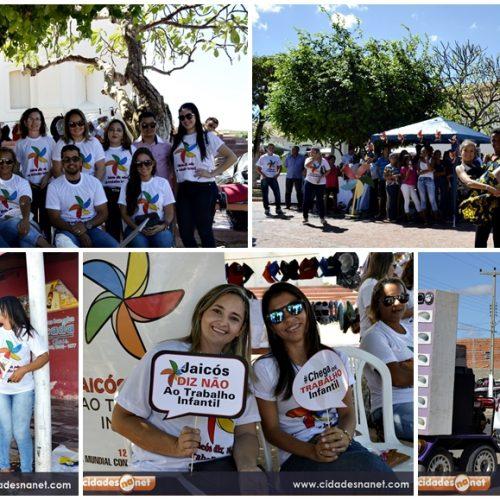 Assistência Social promove ações de mobilização e combate ao trabalho infantil em Jaicós