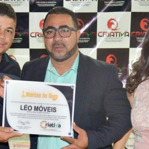 SIMÕES | Criativa premia empresas destaque com 'Marcas de Ouro 2017'