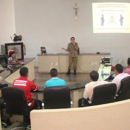 Corpo de Bombeiros lança em Picos plano de contingência e firma parceria entre órgãos