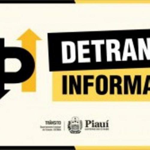 DETRAN-PI divulga edital notificando donos de automóveis que foram retidos