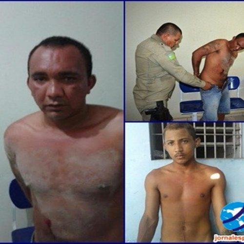Dupla que praticavam assaltos com rostos pintados são postos em liberdade em cidade do Piauí