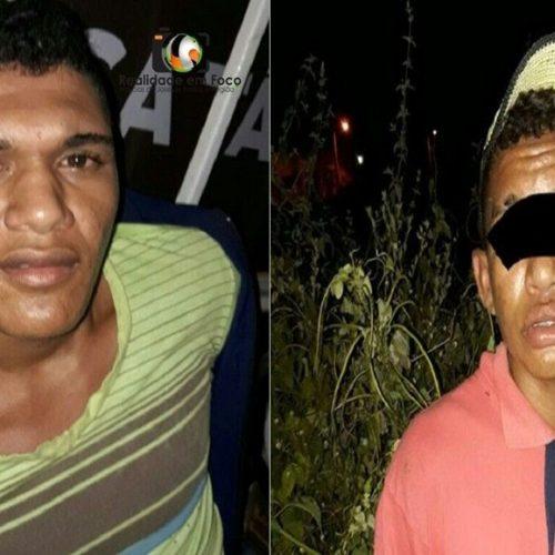Dupla é capturada com veículo adulterado após tentativa de assalto em cidade do Piauí