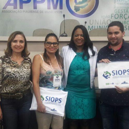 PATOS | Secretária de Saúde  participa de oficina do SIOPS em Teresina