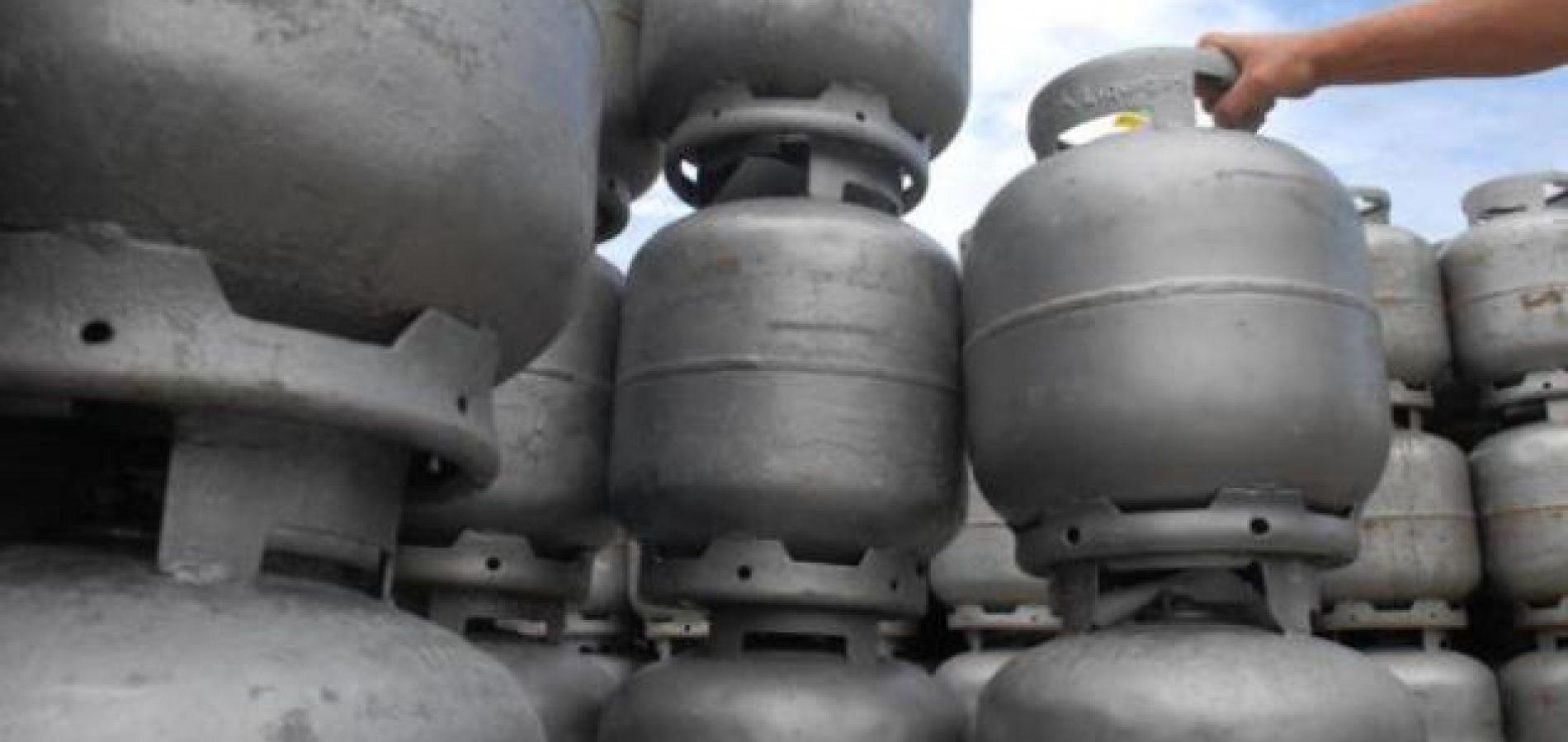 Botijão de gás de cozinha vai ficar mais caro 12,2% a partir de amanhã(06)