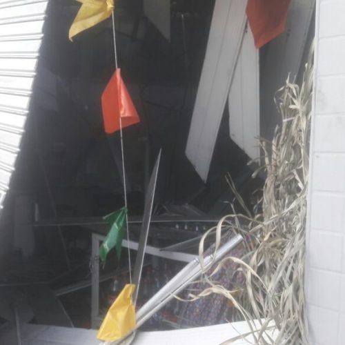 Quadrilha explode caixa eletrônico em padaria no Piauí