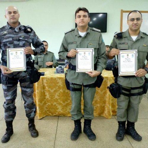 Policiais Militares recebem medalhas por tempo de serviço e mérito em Picos