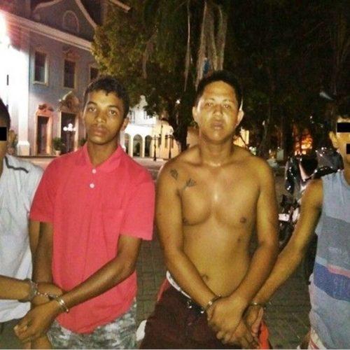 Jovens são presos por assalto e posse de drogas em município do Piauí