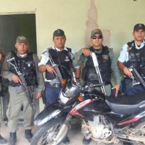 Moto roubada em Campos Sales é recuperada em Pio IX