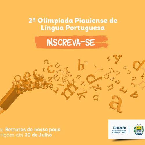 Olimpíada Piauiense de Língua Portuguesa é lançada na UESPI