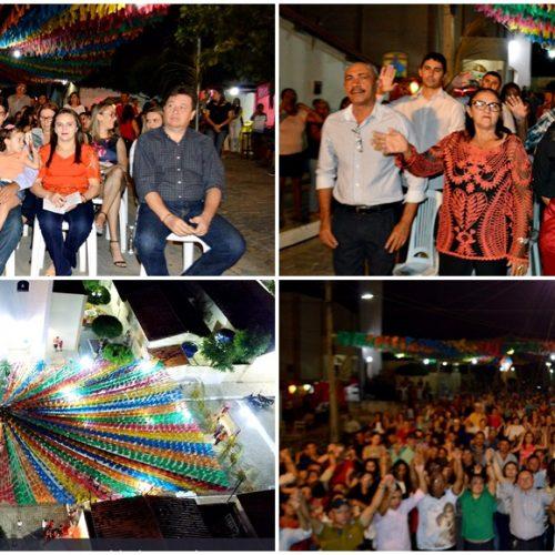 Missa e show católico com Antônio Cardoso abrem o 36º festejo de Santo Antônio em Vila Nova do Piauí; veja fotos