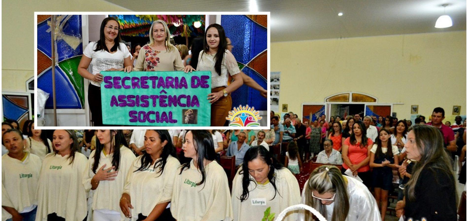 FOTOS   9ª e última noite de novena/missa dos festejos de Santo Antônio em Vila Nova do Piauí