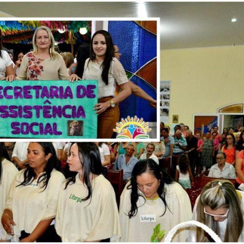 FOTOS | 9ª e última noite de novena/missa dos festejos de Santo Antônio em Vila Nova do Piauí
