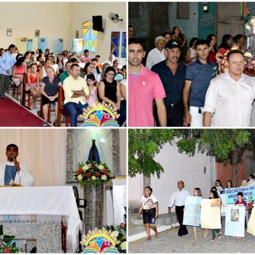 Missa e procissão encerram festejos do padroeiro de Vila Nova do Piauí; veja cronologia dos 36 anos